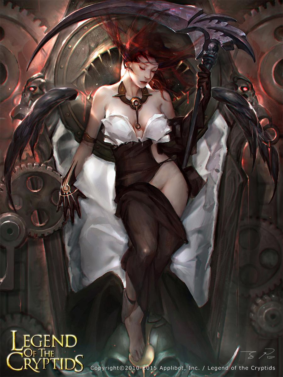 Angel of Death by Zinnadu