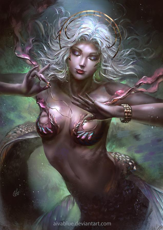 Mermaid's Treasure by aivablue