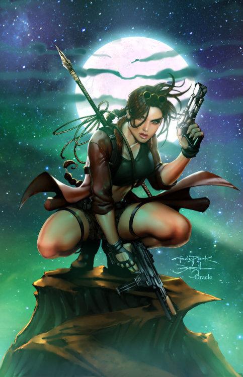(13468) Lara Croft by Andy Park & Mystic-Oracle