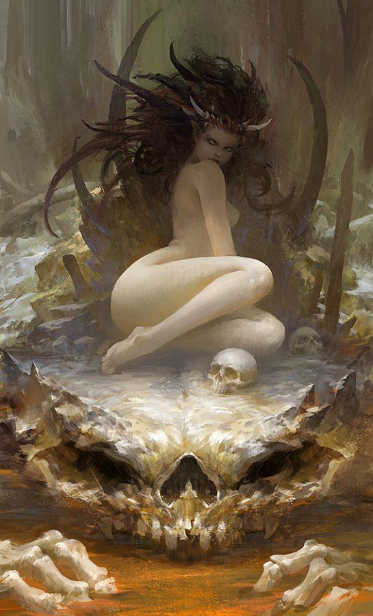 naughtyhalloweenart: by Chen Zhe