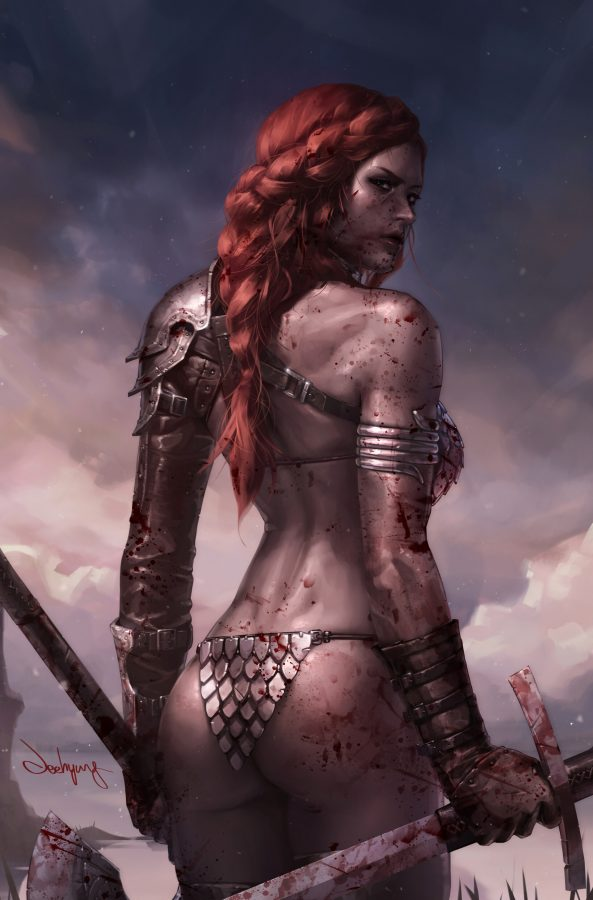 #Red_Sonja by #Jeehyung_Lee