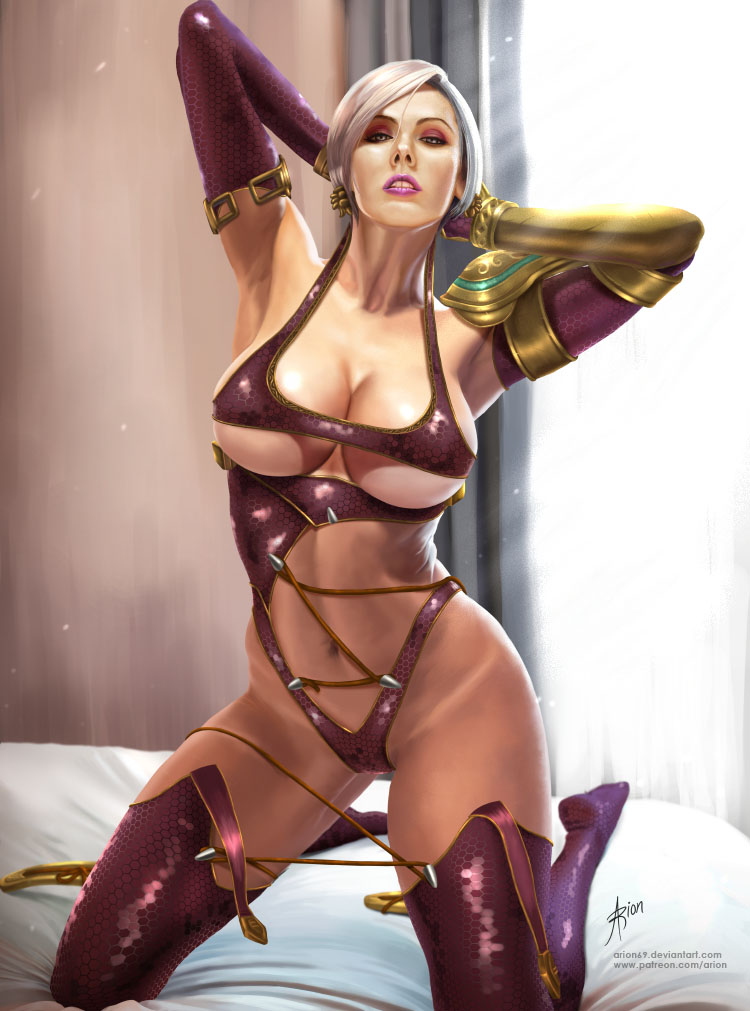 Ivy Valentine on bed by #arion69